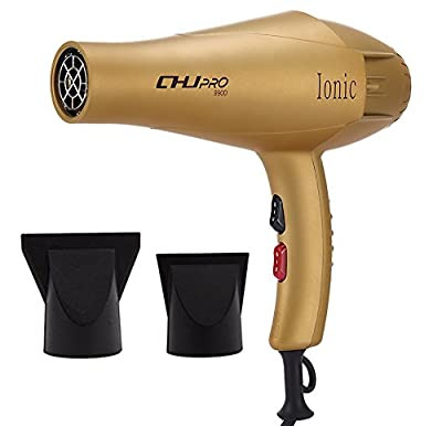CHJPro Professional Extreme Powerful Hair Dryer 2000 watts Combines Ionic Technology with Hot-Cold Heat Home & Salon