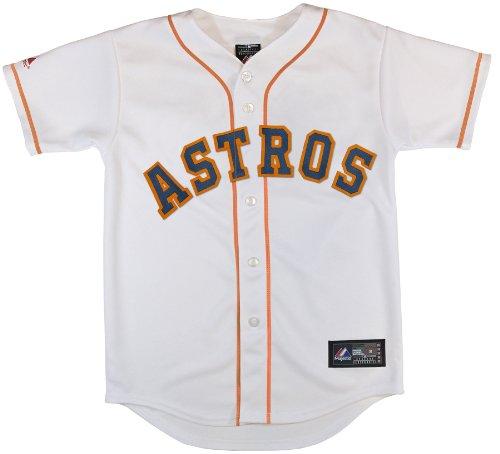 MLB Houston Astros Replica Jersey, White,