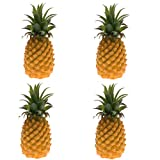 B Blesiya 4Pcs Realistic Plastic Artificial Fake Fruits Shop Decor Store Market Party Craft Hawaii Party Events Holidays Birthday Props