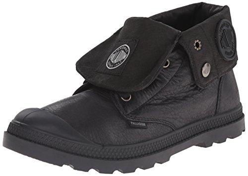 Palladium Baggy Lea Low Lp - botas sin forro de cuero mujer negro - negro