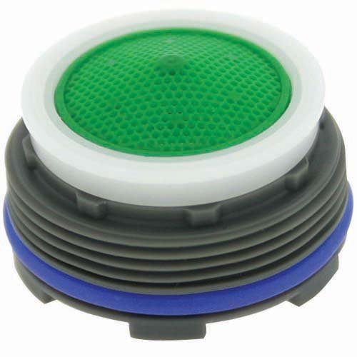 Pack of 50 M24 x 1 Threads 0.606 Height Pack of 50 Aerated Stream 1.5 GPM Honeycomb Screen 0.606 Height Green Dome Neoperl 13 0050 4 Economy Flow Cache Perlator HC Aerator Plastic Standard Size