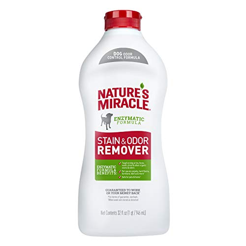 Nature's Miracle Dog Stain and Odor Remover, Safe for Your Pets & Home