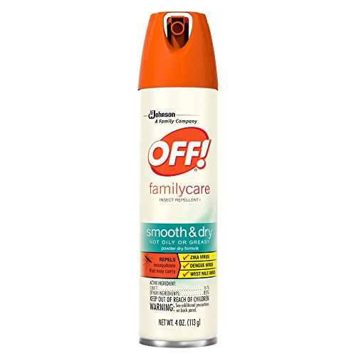 OFF! FamilyCare Insect Repellent I Smooth & Dry 4 oz