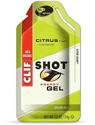 Clif Shot Energy Gels Variety Sampler Pack - 8 Gels (1 of Each Flavor)