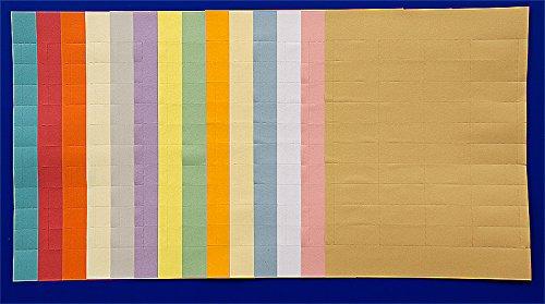 Data Control Inc Colored Card Inserts - 1/2