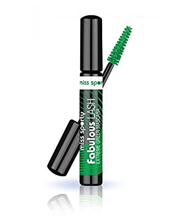 a0ba9b78d31 Miss Sporty Fabulous Lash Extreme Green Mascara 8ml - 003 Extreme Green by  Miss Sporty: Amazon.co.uk: Beauty