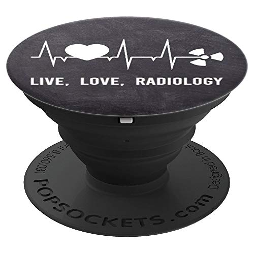 Cute Live Love Radiology Funny X-Ray Tech Meme Saying Gifts - PopSockets Grip and Stand for Phones and - X-ray Funny