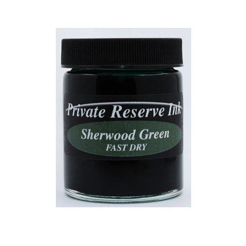 Private Reserve Fast Dry Ink Sherwood Green Bottled Ink - PR-04F