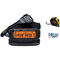 Bundle - 3 Items - Includes Kenwood TM-D710GA Mobile Radio, 2m/70cm, 50W, +GPS with the New Radiowavz Antenna Tape (2m - 30m) and HAM Guides Quick Reference Card