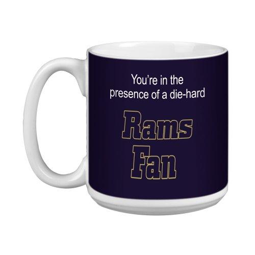 (Tree-Free Greetings XM28136 Rams Football Fan Artful Jumbo Mug,)
