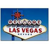 Welcome to Fabulous Las Vegas Nevada Sign Fridge Magnet