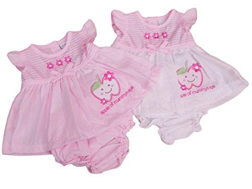 apple of mummy/'s eye nursery time baby girls summer dress cotton 3pc