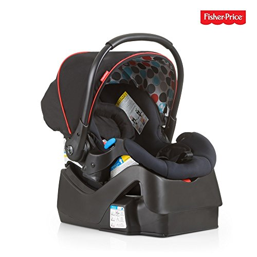 Hauck Prosafe35 incl. Base, Rear Facing Infant Car Seat 5 – 35 lbs with Seat Insert and 5-Point Safety Harness, Side Impact Protection, Easy Installation, Black