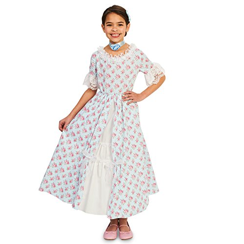 Early American Costume - Fancy Early American Child Dress S (4-6)