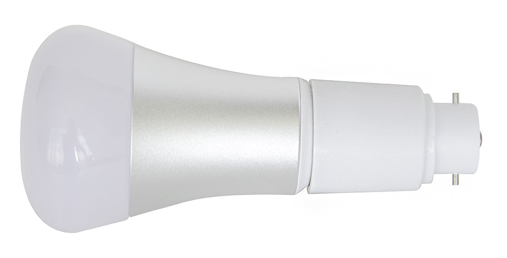 220-240 V convertitore per attacco di lampadina a risparmio energetico attacco da baionetta a Edison avvitabile Adattatore per lampadina confezione da 2 pz Jimlam da B22 a E27