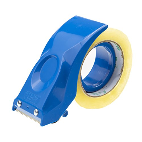 - PROSUN Easy-Mount 2 Inch Tape Gun Dispenser Packing Packaging Sealing Cutter Blue Handheld Warehouse Tools