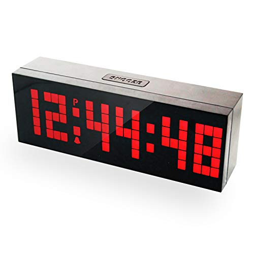 Digital Alarm Clock with Countdown Function, LED Display and 2