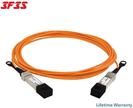 3m 10ft QSFP-40G-D-AOC-3M H3C Compatible by 3F3S 40G QSFP Active Optical Cable Life TIME Warranty