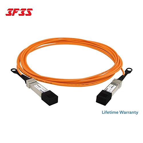 10GB-F05-SFPP Extreme Networks Compatible by 3F3S 10G SFP Active Optical Cable Life TIME Warranty 5m 16ft