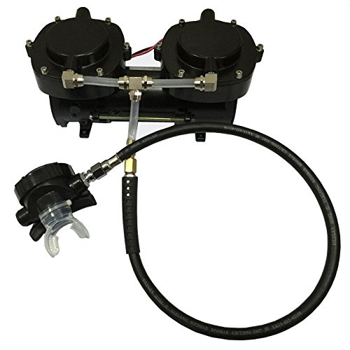 Davv 12v 160w oil less diaphragm pump hookah dive system - Hookah dive compressor ...
