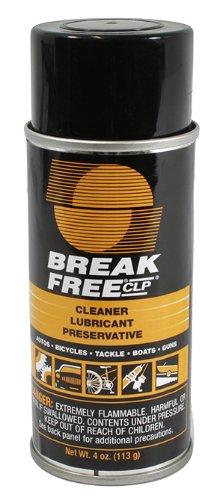Break-Free CLP-2 Cleaner Lubricant Preservative Aerosol (4-Ounce), Outdoor Stuffs