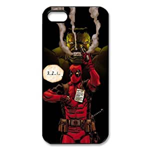 Deadpool Snap-on TPU Case Cover Skin compatible with Apple iPhone 4 4S 4G