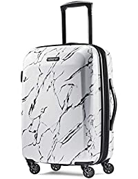 Moonlight Hardside Expandable Luggage with Spinner Wheels, Marble