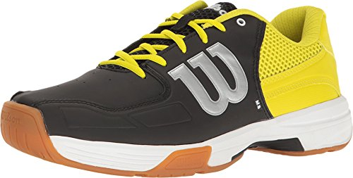 Wilson Womens Spring - Wilson Unisex Recon Black/Sulphur Spring Athletic Shoe