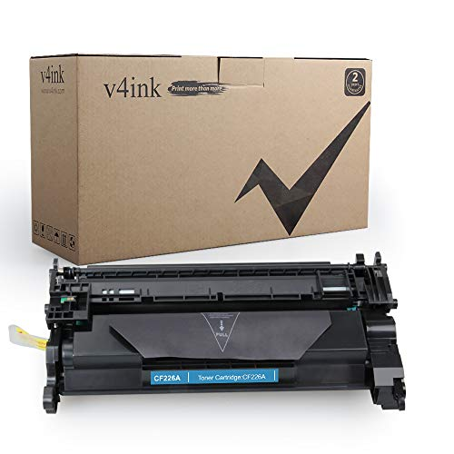 - V4INK 1 Pack Replacement for CF226A 26A 3100 Pages New Compatible Toner Cartridge for Laserjet Pro M402n, M402dn, M402dw, MFP M426fdw, MFP M426fdn Series