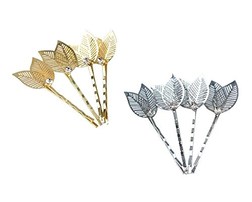 yueton Hollow Barrettes Headwear Rhinestone