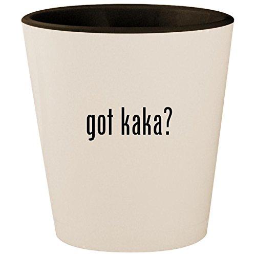 got kaka? - White Outer & Black Inner Ceramic 1.5oz for sale  Delivered anywhere in USA