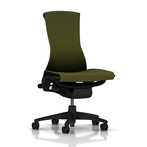 Herman-Miller-Embody-Chair-Armless-Graphite-FrameBase-Standard-Carpet-Casters