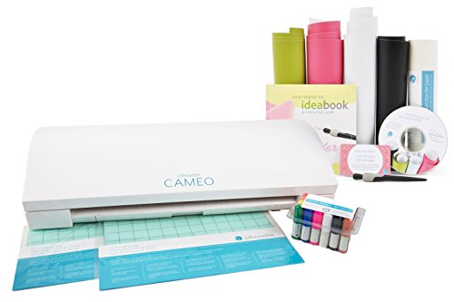 Silhouette America Cameo3 Silhouette Cameo 3 Beginners Bundle, White by Silhouette America