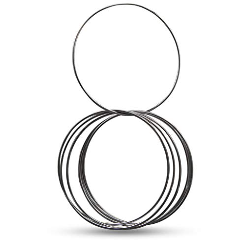 Magic Makers Linking Rings Medium 8 Inch Set of 8 Rings with DVD by Magic Makers (Image #3)