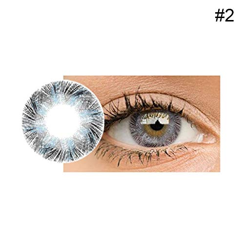 Binglinghua Cosmetic Contact Lenses Cosplay Eyes Cute Colored Charm Attractive Cosmetic Makeup Eye Shadow -