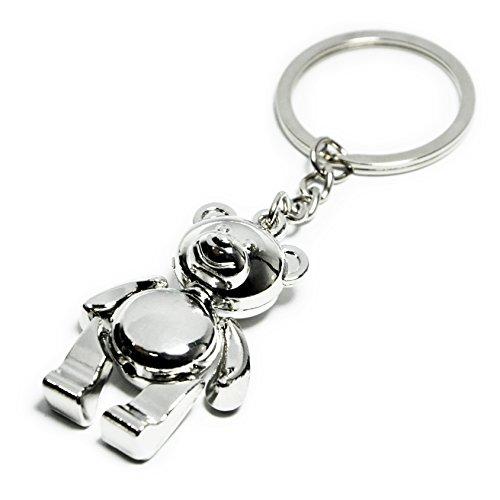 Elechobby Lucky Keychain Bear Key Ring