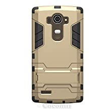 LG G4 Case, Cocomii® [HEAVY DUTY] Iron Man Case :::NEW::: [ULTRA WAR ARMOR] Premium Shockproof Kickstand Bumper [MILITARY DEFENDER] Full-body Rugged Dual Layer Cover for LG G4 ★★★★★ (Gold)