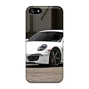 Iphone 5/5s Lma16101leyS Custom Realistic Porsche Pattern Scratch Resistant Hard Cell-phone Cases -SherriFakhry