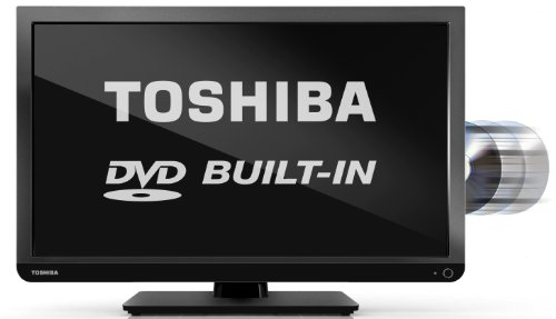 Toshiba 24D1433B/24D1433B2 24-inch High Definition LED TV with Built-In DVD Player