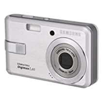 Samsung Digimax L60 6.0MP Digital Camera with 3x Optical Zoom (Silver)