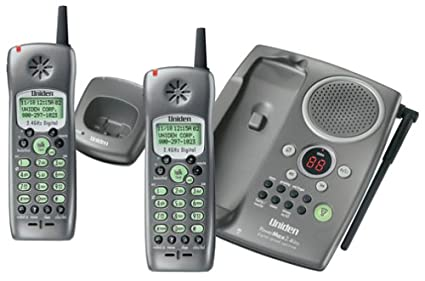 amazon com uniden tru 448 2 2 4 ghz dss cordless phone with caller rh amazon com