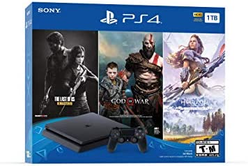 PlayStation 4 Slim 1TB Console – Only On PlayStation Bundle