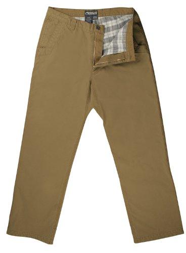 Mountain Khakis Men's Flannel Original Mountain Pant Relaxed Fit, Yellowstone, 38x32