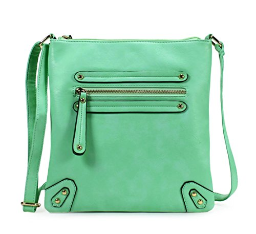 Scarleton Chic Crossbody Bag H155947 - Aqua Green