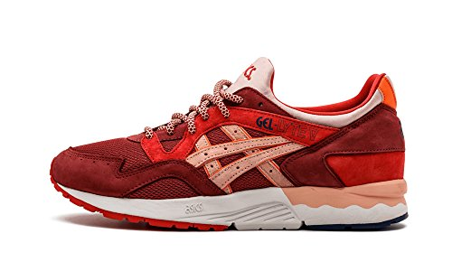 Asics – Mens Gel-Lyte V Sportstyle Shoes, Size: 10.5 D(M) US Mens, Color: Burgundy/Red/Pink
