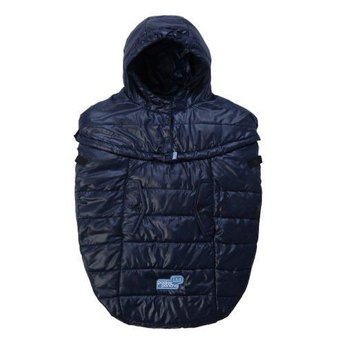 7AM Enfant Pookie Poncho Light Baby Bunting Bag, Midnight Blue by 7AM Enfant