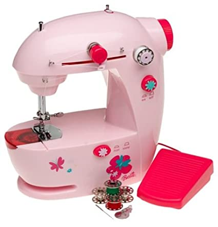 Amazon Barbie Lightweight Portable Sewing Machine Adorable Lightweight Portable Sewing Machine