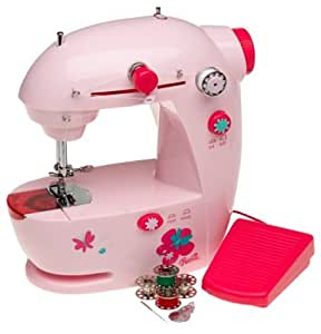 Barbie lightweight portable sewing machine for Arts and crafts sewing machine
