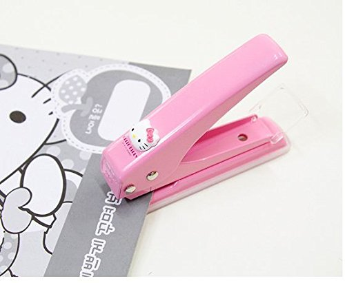 Amazon Hello Kitty Punch Paper 1 Hole Tool Craft Cute Pink