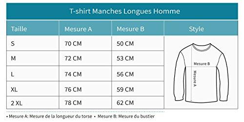 Green Turtle Homme Foncé T T Je Déchire Papi Papy shirts Suis Manches shirt Longues Un Qui Grus HHq6drU